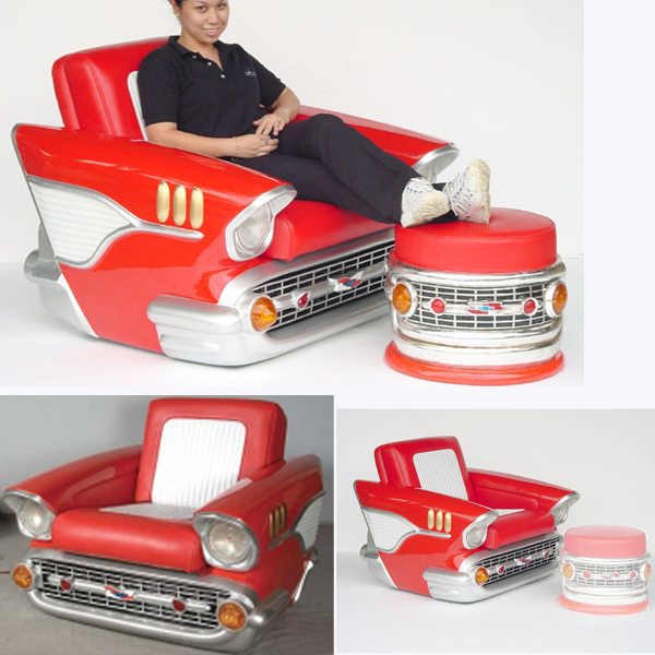 Chevy Car Chair