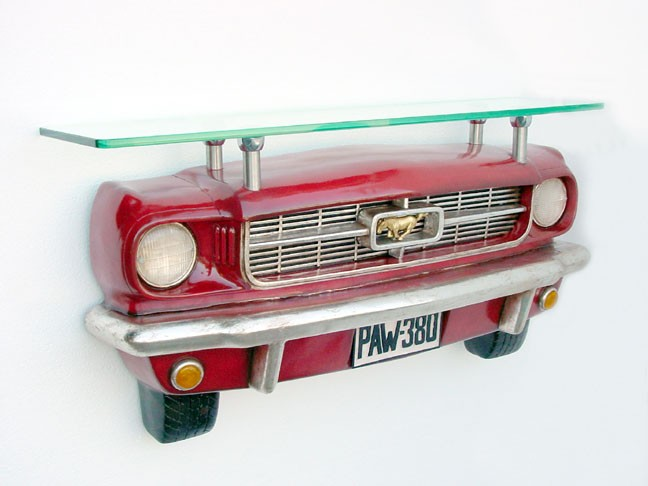 Ford Wall Mustang Shelf