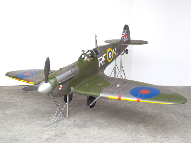Spitfire Model Airplane