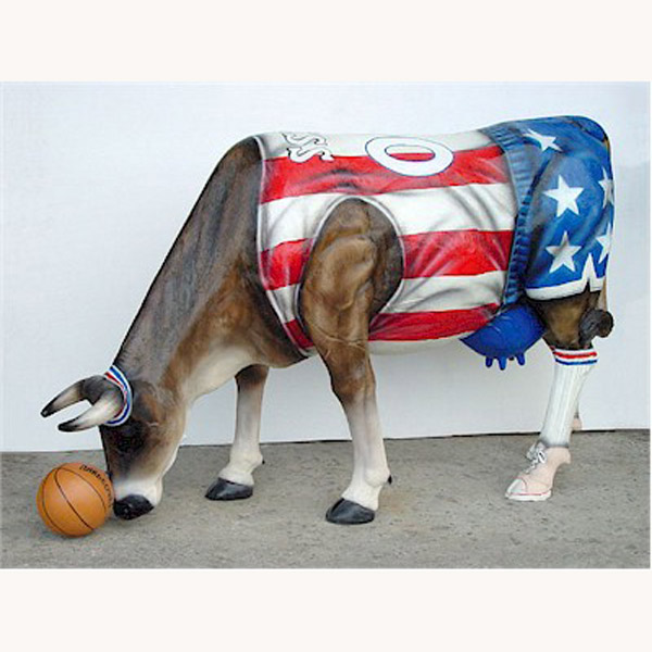Basketball Cow