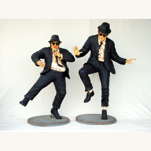 Jake and Elwood Statues 3ft