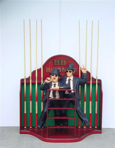 Blues Brothers Billiards Board