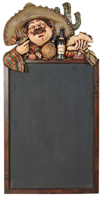 Mexican Menu Black Board - Click Image to Close