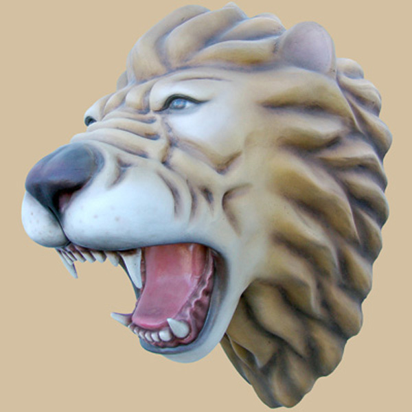 Lion Head - Click Image to Close