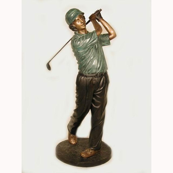 Bronze Golfer - Four
