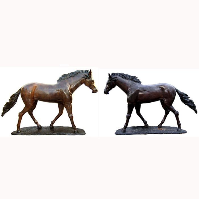 Full-Sized & Life-Sized Bronze Horse - Click Image to Close