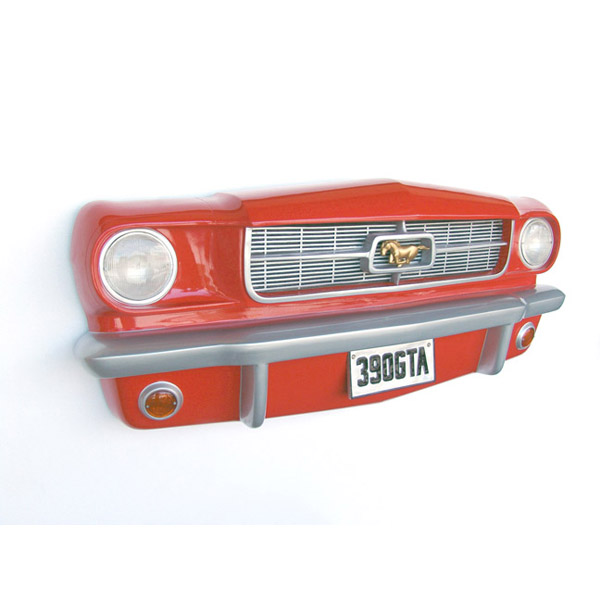 Front Mustang-Car Wall Decor