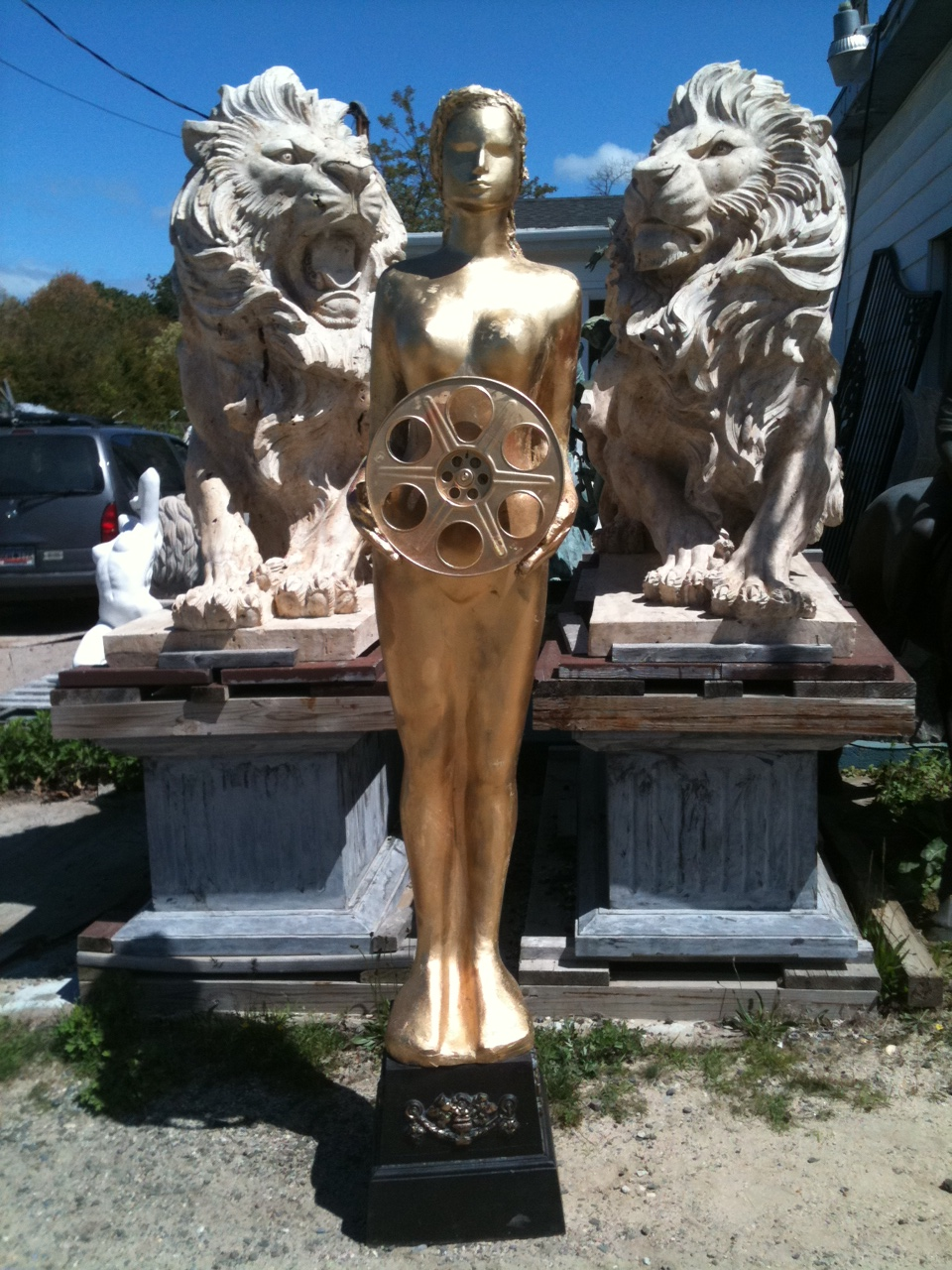 Gold Award Statue for Sale or Rent