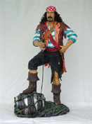 Pirates Statues