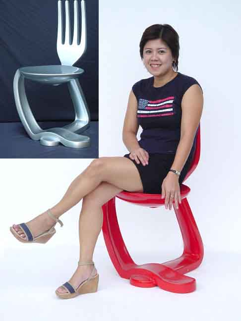 Spoon & Fork Chair 50% OFF!!